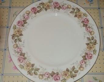 Vintage Coalport Rosalinda Medium Salad Medium Dessert Plate