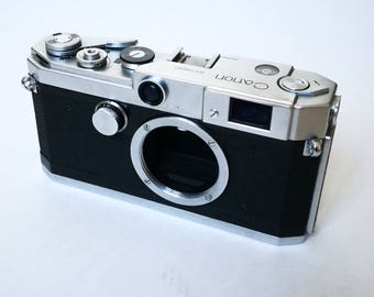 Canon L2 Serviced. Ready-To-Use Vintage 1950s Rangefinder Camera Body with Leica LTM M39 Thread Mount