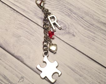 Autism Awareness, Puzzle Charm, Charms, Planner Charm