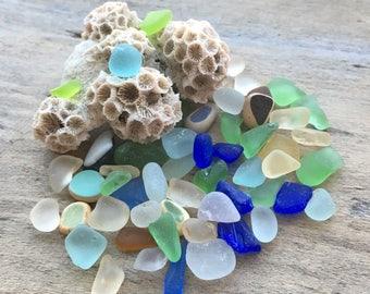Tiny Sea Glass Mix