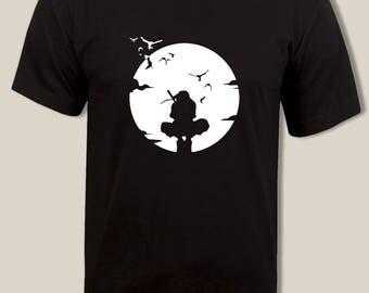 Itachi Uchiha Anbuu t shirt, Naruto tee, For Men