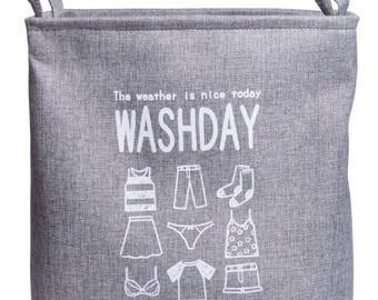 Laundry basket Washday