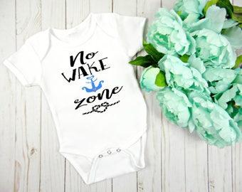 Nautical Baby Onesie, Gender Neutral Baby Clothing, New Baby Gift