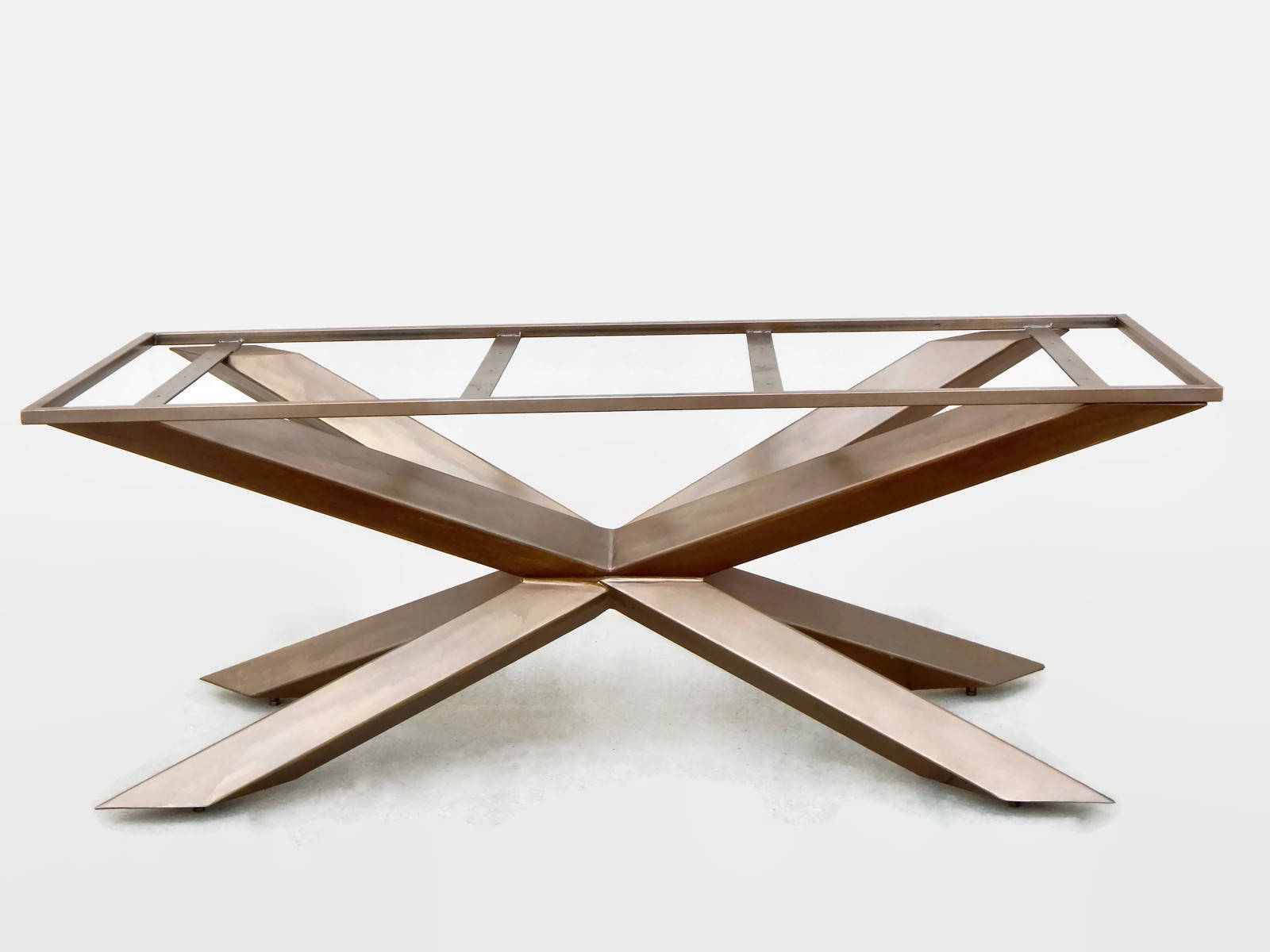 Custom Base for Dining Table or Conference Table Steel Table