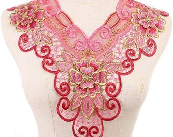 guipure floral lace 2 G