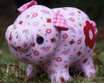 Whimsical Pig PATTERN - Oink Oink - MM149