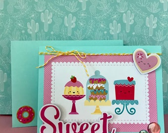 Valentine's Day Card • Sweet Card • Sweet tooth • I love you Card • You're sweet • For Anyone • Thank You Card •