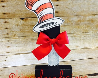 Dr. Seuss Letters, Thing One and Thing Two, Cat In The Hat, Decorative Letters, Birthday Party Supplies, Party Supplies, Party Decor.