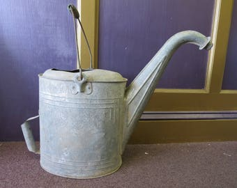 Vintage Galvanized Radiator Water Fill Can