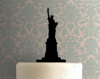 Statue Of Liberty Cake Topper