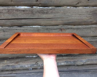 Midcentury Teak Serving Tray