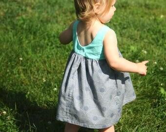 girl dress, girls summer dress, baby girl dresses, girls first birthday dress, girls clothes, toddler girl dress, first day of school