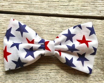 Fourth of July hair bow