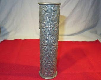 Vintage Metal Vase? Hagness-Pewter