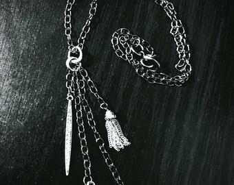 West Virginia charm dangle necklace