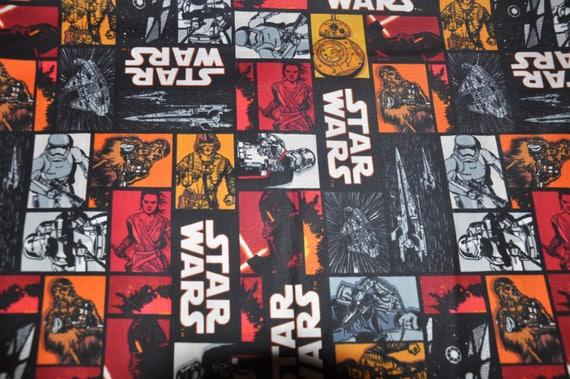 New Star Wars Darth Vader Storm Trooper 100 Cotton Quilt