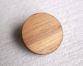 3x The Bamboo Coat Button (button shank, buttons, shanks, coat button, wooden button, jacket, sewing notions, fashion, supplies)