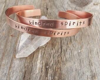 kindred spirits cuff set