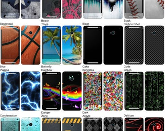Choose Any 2 Designs - Vinyl Skins / Decals / Stickers for HTC One M7 Android Smartphone