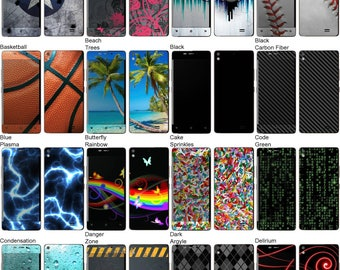 Choose Any 2 Designs - Vinyl Skins / Decals / Stickers for Blu Vivo Air Android Smartphone