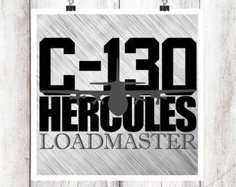 C-130 Loadmaster SVG/DXF/EPS File