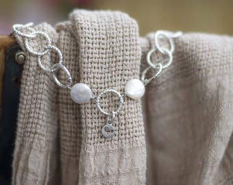 30% OFF - Handmade bridal bracelet