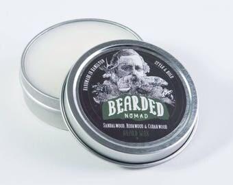 Bearded Nomad's Sandalwood, Rosewood and Cedarwood Beard & Moustahce Wax