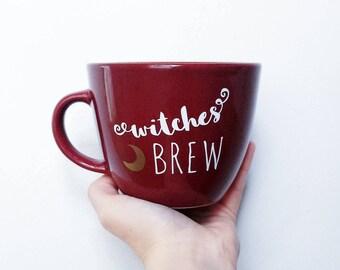 Witches Brew Halloween Coffee Mug
