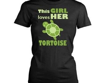 Tortoise womens fit T-Shirt. Funny Tortoise shirt.