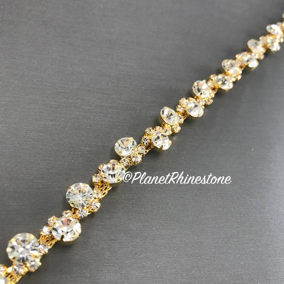 Gold Crystal Trim #0199