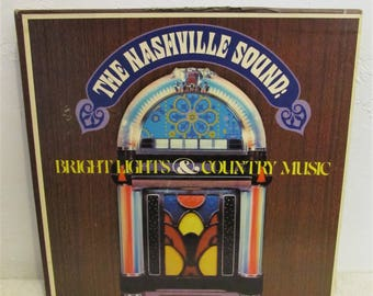 A Vintage 70's,Box Set of THE NASHVILLE SOUND Albums With About 55 Songs.Cash,George Jones & More!!