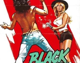 SPRING SALE: BLACKSNAKE! Movie Poster Russ Meyer