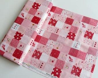 30% off - 2 yards Riley Blake Designs | Sweet Orchard | Orchard Main Designer Cloth Pink | DC5480-PINK
