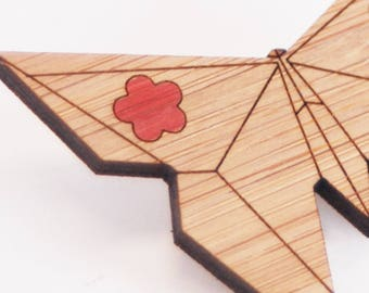 SALE - Origami Butterfly Brooch - LAST ONES
