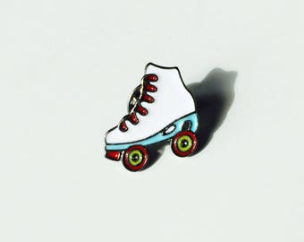 Roller Skate | Skate | Skater | Roller Derby | Cute | Pin | Badge | Retro | Hipster | Upcycle | Accessory | Modify