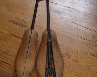 Two Vintage Shoe Trees