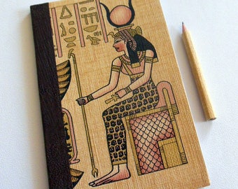 TRAVEL - notebook - diary - Egyptian theme