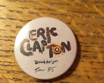 Eric Clapton Concert Button