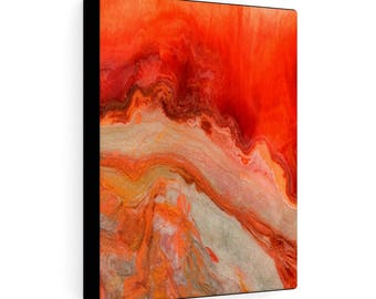 "Gallery Wraps Canvas ""Fire Stone #3"""