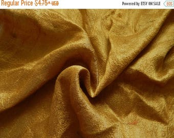 5% off Pure Silk Fabric, Pure Dupioni Silk Fabric, Silk Fabric, Indian Silk Fabric, Gold Silk Fabric