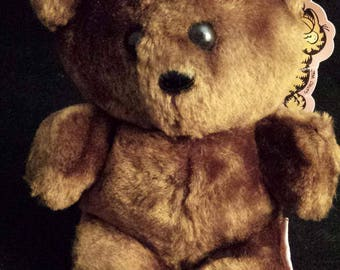 "Vintage 1983 Garfield's 7.5"" Pookie Bear Plush Toy"