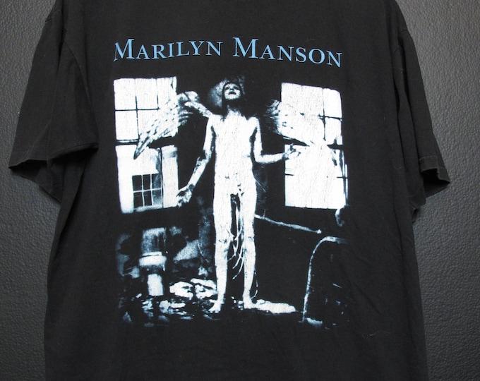 Marilyn Manson Antichrist Superstar 1998 Vintage Tshirt