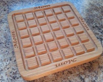 Personalized Wooden Trivet, Hot Plate