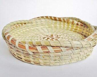Sweetgrass Jewerly Tray-Small, Sweetgrass Basket, Gullah Basket, Charleston, SC