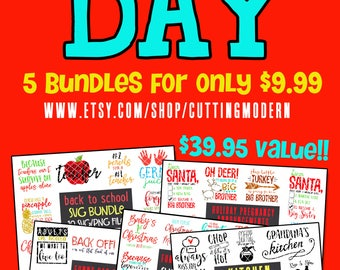 Deal Of The Day SVG 5 Bundles