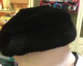 Faux fur hat stewards of Baltimore