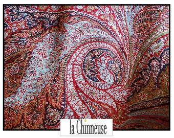 ANTIQUE 19 th century Cashmere shawl / Antique Kashmir Shawl 19th Century / Vintage cashmere / Paisley shawl / Collectible / True Vintage.