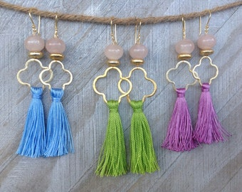 Spring Tassel Earrings