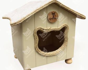 Cat bed, Cat house, CatCottage, Cat Furniture