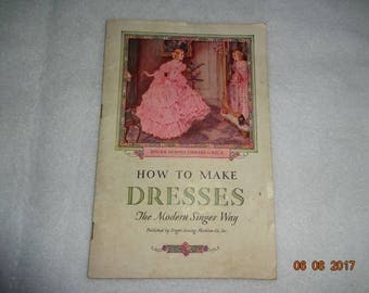 How to Make Dresses Booklet